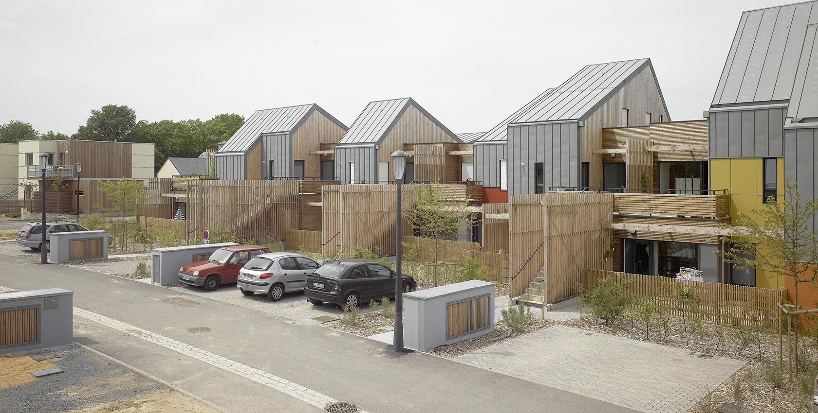Agence Johanne San - Construction de plusieurs résidences bois au sein de la ZAC des «Échats II»