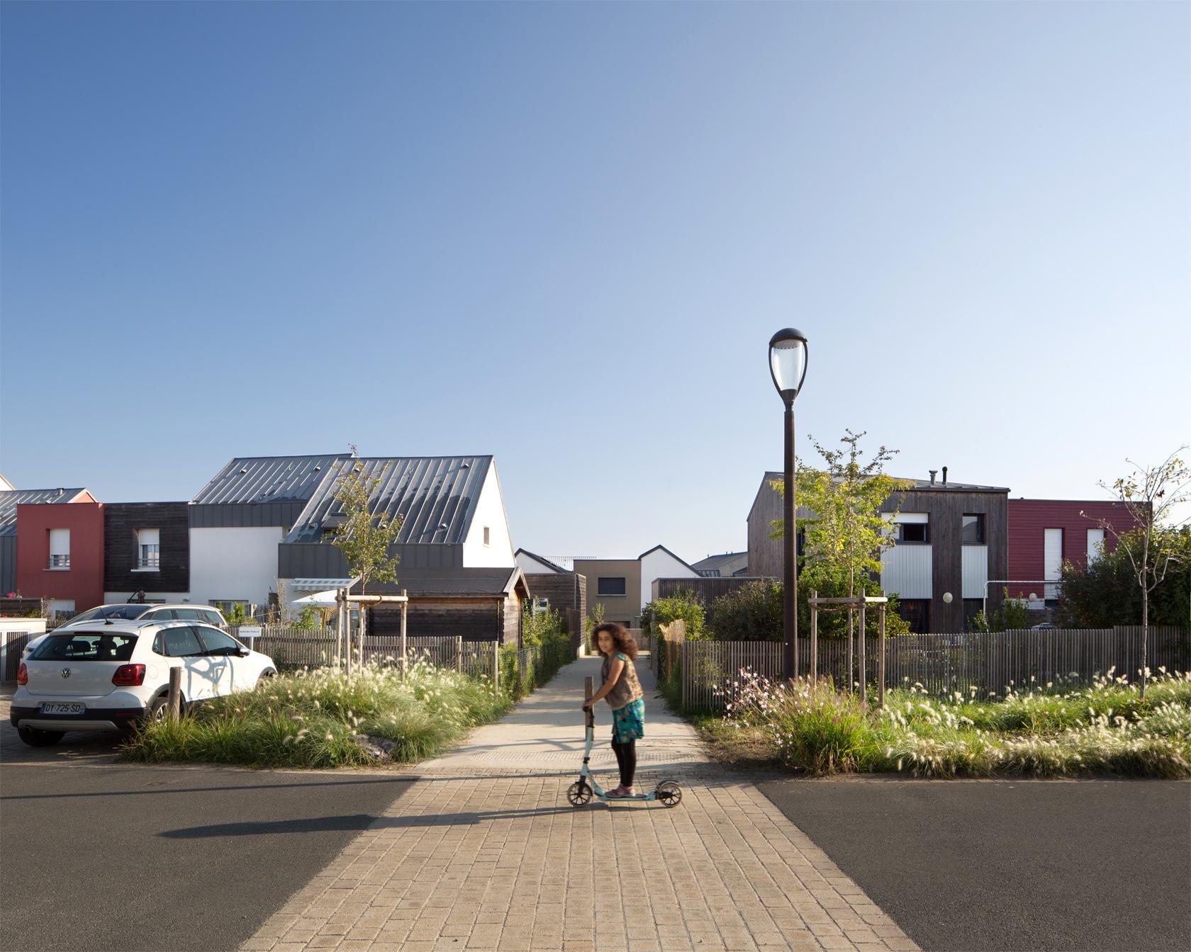 Agence Johanne San - Les nouveaux Échats - Aménagement d'un écoquartier bas carbone labellisé