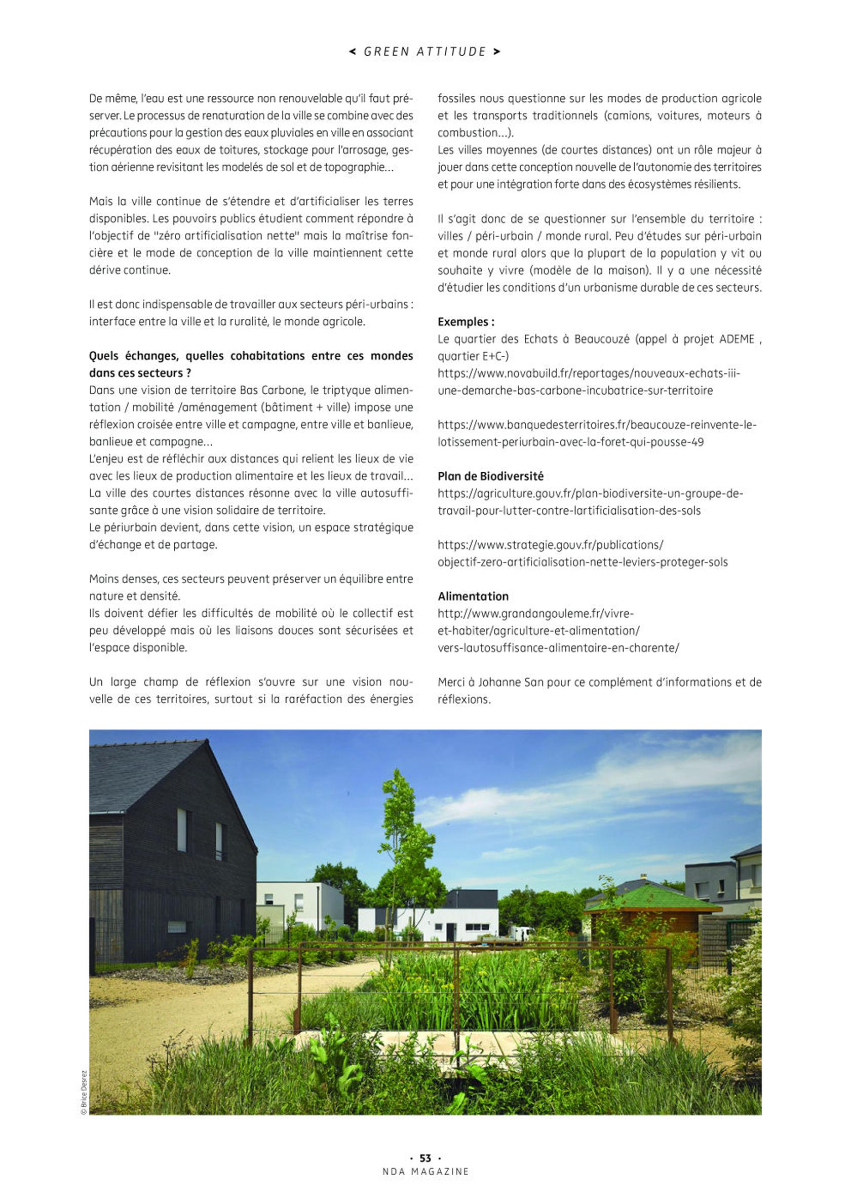 Agence Johanne San - Architecture & Urbanisme